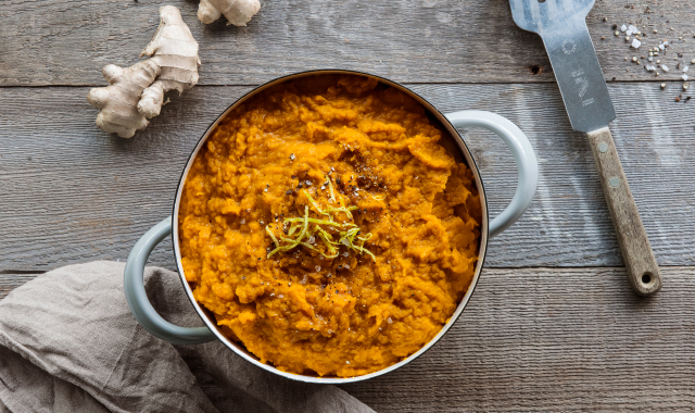 Butternut, Ginger & Lime Mash Recipe
