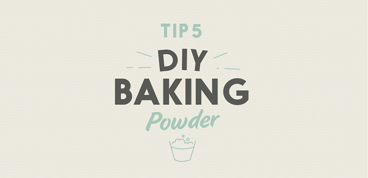 Making homemade baking powder is a breeze
